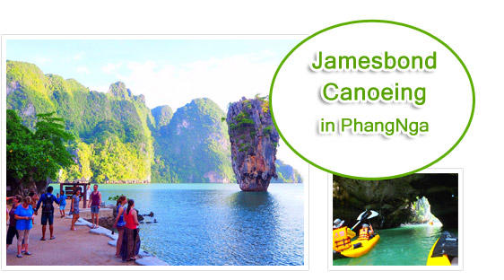 James Bond Canoeing in Phang Nga : JC Tour