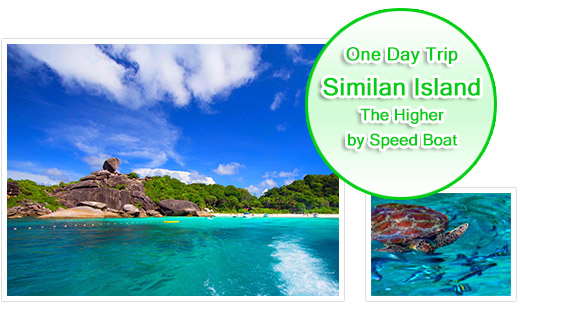 Similan Island : Higher Class