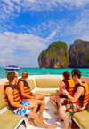 Private Speed Boat to Phi Phi Island : JC Tour