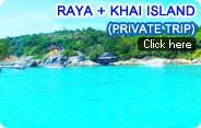 Raya Island and Khai Island