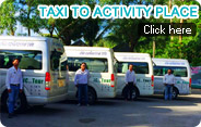 Taxi to Activity Place