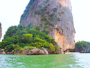 Jamesbond and Panyee Canoeing by Excort Boat