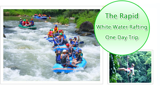 The Rapid White Water Rafting