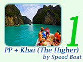 PP + Khai by Speed Boat