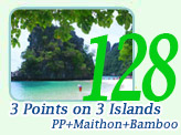 3 Points on 3 Islands