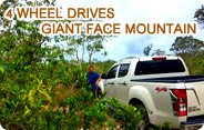 4 Wheel Drives Giant Face Mountain