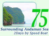 Surrounding Andaman Sea by Speed Boat
