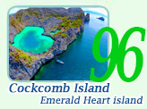 Cock Comb Island : Emerald Heart Island