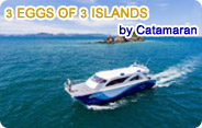 Catamaran - 3 Eggs of 3 Islands