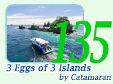 3 Eggs of 3 Islands by Caramaran