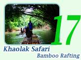 Khaolak Bamboo Rafting