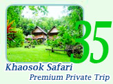 Khaosok Safari Premium Private Trip