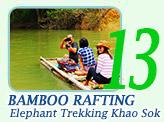Khao Sok Bamboo Rafting