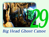 Big Head Ghost Canoe : JC Tour