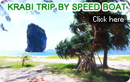 Krabi Trip by Speed Boat