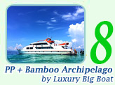 Luxury Boat to PP Maya Bamboo Island