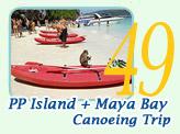 PP Island Maya Bay Canoeing