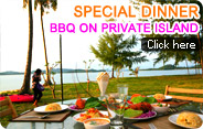 Special Dinner BBQ on Private Island