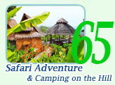 Safari Adventure and Camping on the Hill
