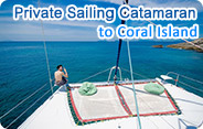 Private Sailing Catamaran to Coral Island