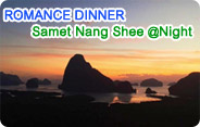 Romance Dinner Samet Nang Shee at Night