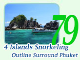 4 Islands Snorkeling Phuket