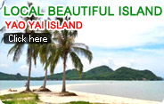 Local Beautiful Island Yao Yai Island