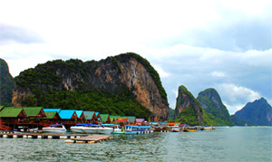 JC Tour Phuket : Fishing Village Phangnga