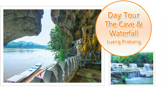 The Cave & Waterfall: Luang Prabang Tour