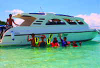 Private Speed Boat to Coral Island : JC Tour