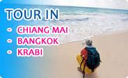 Tour in Chiangmai, Bangkok, Krabi